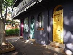 Colourful doors in Surry Hills | Sydney's Eastern Suburbs