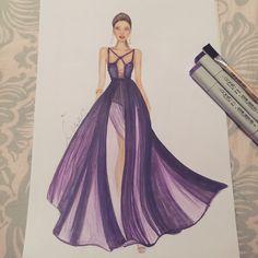 #fashionsketch #fashionillustration  #fashionillustrator #copicmarkers #promarker #copic #turkey #prints #drawing #fashion #happy #amateurdrawings #beginner #mei.