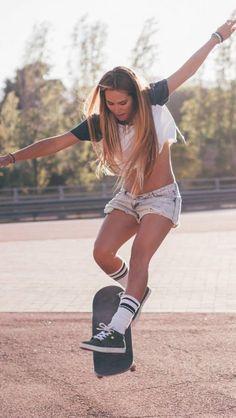 Sk8 Skate Girl Thaisluzz Skating. Skater Girl Hd Wallpaper