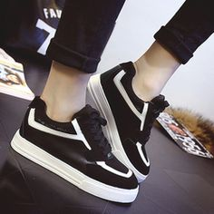 finest selection 542e7 71e2c Giày Sneaker Nữ TrắngĐen Đế Cao Giá Rẻ, Sale Sập Sàn Quốc Khánh 29   Sendo.vn