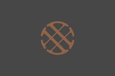 Logo for Nashville-based boutique real estate title and escrow company Wagon Wheel designed by Perky Bros.