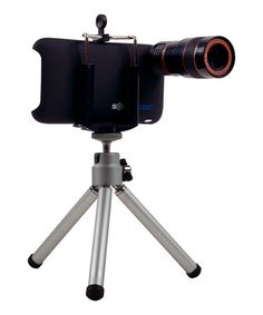 Telescopic Lens & Tripod Set for iPhone 3/4 by Trademark Global on #zulily