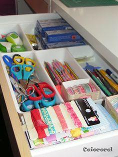 Home Office e Organização - porta talheres