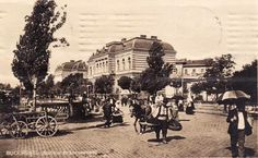 Bucuresti - Spitalul Brancovenesc - 1915 Bucharest Romania, Old City, Old Pictures, Dan, Street View, Houses, Memories, Country, Beautiful