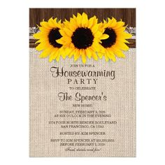 A rustic country unplugged wedding sign. Featuring sunflowers on burlap and dark brown barn wood. Matching invitations and RSVP cards available. Size: x Gender: unisex. Material: Value Poster Paper (Matte). Rustic Wedding Menu, Western Wedding Invitations, Couples Shower Invitations, Sunflower Wedding Invitations, Rehearsal Dinner Invitations, Engagement Party Invitations, Rustic Invitations, Wedding Invitation Sets, Wedding Rsvp