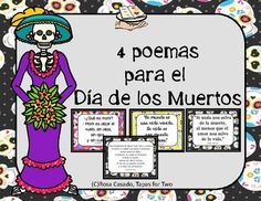 4 Day of the Dead Poems in Spanish