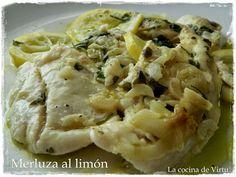 Merluza al limón en el microondas | Cocinar en casa es facilisimo.com