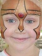 Bronze Knight face painting