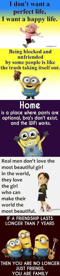 Top 5 Well Said Quotes By The #Minions... - 5, funny minion quotes, Funny Quote, Minions, Quotes, Top - Minion-Quotes.com