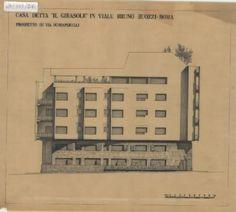 Luigi Moretti - Casa 'Il Girasole', Rome, 1949