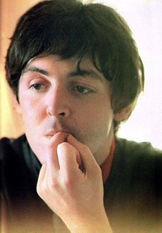 Paul, contemplative & pensive.
