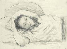 urgetocreate:  Pablo Picasso, Portrait de Dora Maar Endormie, 1937