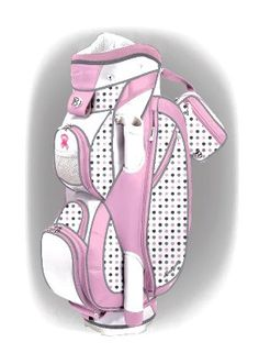 Women's golf bags come in every design and color you can think of.