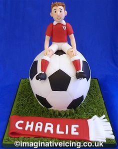 Cute sports Birthday Cake