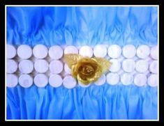Banderas Argentinas: Ideas de cómo hacerlas con material descartable Tea Lights, Candle Holders, Candles, Google, Mayo, Education, Gardens, National Flag, National Anthem
