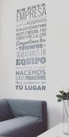 Mensajes que nos grabamos cada mañana  www.arloftdeco.es