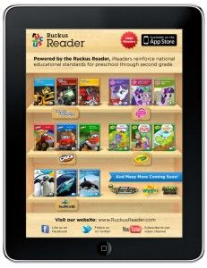 New Kids Digital Reading Platform by Ruckus Reader Promises Education and Discovery
