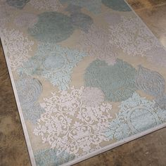 Jaipur Fables Wistful Cream Machine Tufted Rug