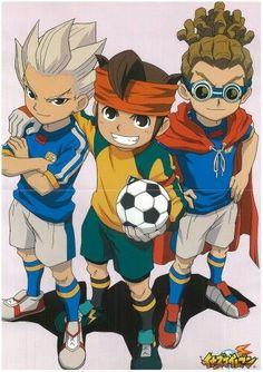 Raimon trio in Inazuma Japan