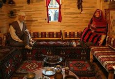 Karadeniz Evi iç görünümü