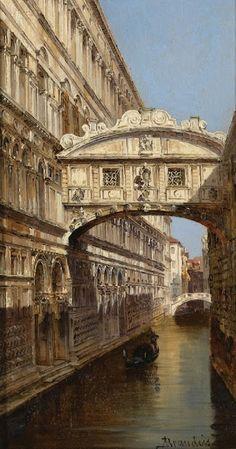 he Bridge of Sighs  Antonietta Brandeis