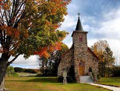 St. John Nepomucene Catholic Church, East Jordan, MI.
