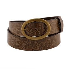 This beautiful and trendy belt is sure to complement any outfit and is a perfect addition to any wardrobe! When choosing a belt, it is important to know how belts are normally measured and labeled for size. Belts are measured from where the belt leather folds at the buckle end [...]