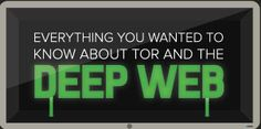 "This infographic ""Everything You Need To Know About TOR And The Deep Web"" can tell you about the latest trends, progress and development in the Deep Web. Secret Internet, Dark Net, Edward Snowden, Cool Tech, Applications, Big Data, Computer Science, Computer Tips, Need To Know"