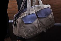 Outback Duffel Bag   Customizable   #fashion #mensfasion #gift   USMade   http://www.sfbags.com/collections/canvas-duffel-bags/products/outback-waxed-canvas-duffel-bag