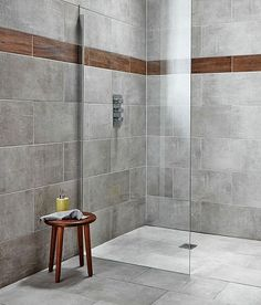 Delicieux Grey Wall Tiles Bathroom Intended For Inspire