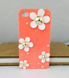 iphone+case+++flowers+case++iPhone+4+case+iPhone+4s+by+dnnayding,+$18.99