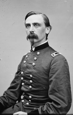 First Lieutenant Adelbert Ames, Union Army Medal of Honor recipient First Battle of Bull Run, Virginia, American Civil War July 21, 1861.