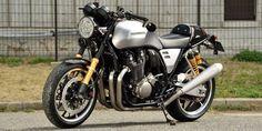 En el Salón de la Moto de Osaka Honda ha presentado la Honda Concept CB Type II, una visión café racer de la espectacular Honda CB1100.