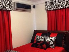 Dormitorio animal print