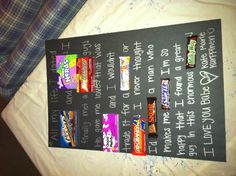 I Made this for my boyfriend for his birthday lol it was fun to do and he loved it:)