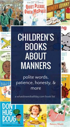 Best children's books about manners. These books teach kids how to be polite and develop etiquette skills like using polite words, being a thoughtful host and guest, being honest and kind and exercising patience and cooperation. Best Toddler Books, Best Children Books, Childrens Books, Teaching Manners, Teaching Kids, New Children's Books, Good Books, 2nd Grade Books, Homeschool Kindergarten