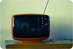 Panasonic - TR-542A Vintage Television, Box Tv, Retro, Mini, Collection, Retro Illustration