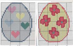 Cross Stitch *<3* Easter Eggs
