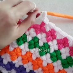 Crochet Flower Patterns, Knitting Patterns, Crochet Home, Free Crochet, Youtube Crochet, Puff Stitch Crochet, Blanket Crochet, Teapot Cover, Unique Crochet