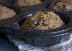 Oatmeal Muffins (Oat Flour Muffins)