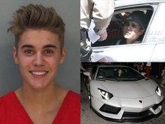 Justin Bieber: filtran foto de arresto por conducir ebrio y drogado