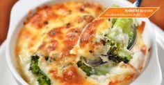 Запеканка из брокколи с твердым сыром | Худеем Вкусно