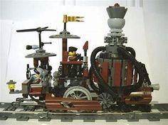 Resultado de imagen de steampunk trains