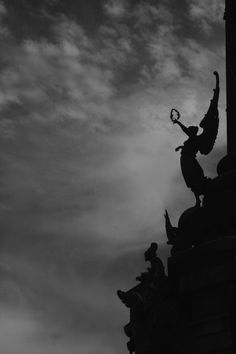 Hear the voice of what you see. This work by Laura B. Cemetery Angels, Cemetery Art, Monochrome Photography, Art Photography, Statues, Gothic Wallpaper, Haunting Photos, Angels Among Us, Architecture Old