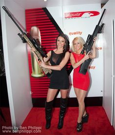 Ooo yeah baby, it's so...ooo big. As soon as that new law gets passed in Red states,  everyone will be hiring the Bang Bang Sniper Sisters to come to their towns and clear out all the deviants, liberals, foreigners, unAmerican Godless scum and anyone not wearing a Charleton Heston t-shirt. Ooo.