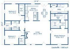 2 Bedroom House Simple Plan Davids Ready Built Homes Floor