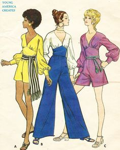 1970s William McNight Butterick Sewing Pattern 5719 by CloesCloset