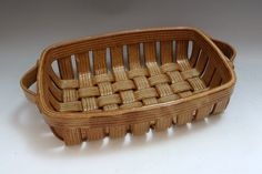 *Ceramic Muffin Basket by Carolina Creations Woven Baskets, Basket Weaving, American Crafts, American Art, Ceramics Ideas, Ceramic Clay, Pottery Ideas, Glass Art, Muffin