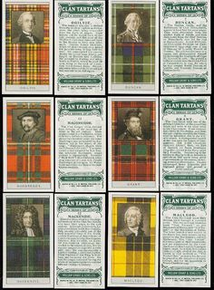 From Walter Scott's Black & White Tartan Design to Famous