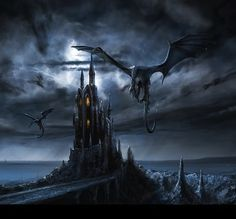 A castle similar to the Citadel of Galderon depicted in The Sphere of Septimus http://simon-rose.com/books/the-sphere-of-septimus/